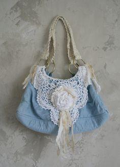 Shabby chic purse by Shabbylishious Design