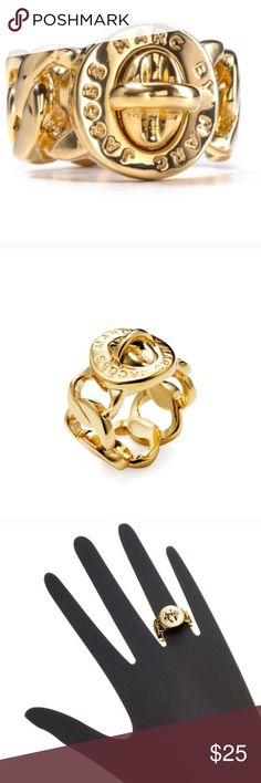 Marc By Marc Jacobs Genuine Gold Ring Size 8 Marc By Marc Jacobs Jewelry Rings