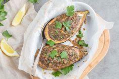 [On aime] Aubergines farcies à l'agneau & citron confit - Cuisine addict @cuisineaddict