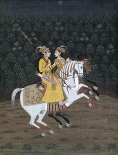 Baz Bahadur Riding with Rupmati   Museum of Fine Arts, Houston   Buy Prints Online