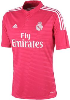 The new Real Madrid Home Kit comes with pink details, while the Real Madrid Away Jersey is pink. The Real Madrid Yamamoto Third Kit features a unique dragon watermark on the front. Real Madrid 2014, Real Madrid Shirt, Real Madrid Football, Soccer Kits, Football Kits, Adidas Real Madrid, Akron Zips, Outfits, Unitards