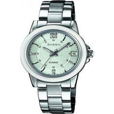 Casio Damen-Armbanduhr XS Analog Quarz Edelstahl SHE-4512D-2AUER - http://uhr.haus/casio/casio-damen-armbanduhr-xs-analog-quarz-edelstahl-3