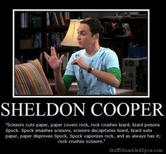 ROCK, PAPER, SCISSORS, LIZARD, SPOCK