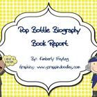Are you looking for a fun filled biography book report?  This pop bottle biography book report is a fun and creative way to showcase knowledge lear...
