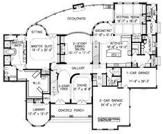 Casa De Caserta House Plan Floor Plan, Master Down House Plans, Mediterranean Style House Plans Free House Plans, House Floor Plans, Home Design Plans, Plan Design, Design Ideas, Window Bars, 2 Story Foyer, Home Designer, Luxury House Plans