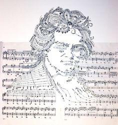 Erika Iris's reorganized sheet music