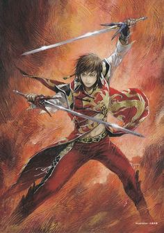 Lu Xun, one of my favorite characters in the series!!