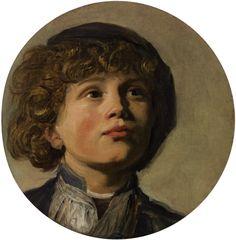 Frans Hals: The Head of a Boy