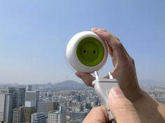 Prise électrique solaire – Ecologie   Green Hotels Paris