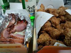 처음처럼한잔^^ 치킨의 느끼함을 깔끔히씻어주는 처음처럼~♥ 조아요!  소주, soju, 처음처럼, 한국 술, korean drink, 알칼리 환원수로 만든 깨끗한 술♥