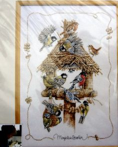 Lanarte Counted Cross Stitch Kit Design by by MyStitchingGarden, $74.00
