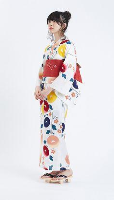 きもの専門店「KIMONO by NADESHIKO」かき氷シロップのようにカラフルな新作浴衣 写真2