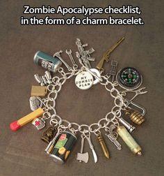 Zombie Apocalypse Checklist