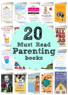 Are you a parent? Are you going to be a parent? Do you need tips, encouragement, and stories from fellow parents? Check out these 20 Must Read Parenting Books!