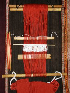 Tutorial on setting up for Backstrap Weaving and starting to weave
