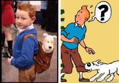 Tintin and Snowy (The Adventures of Tintin)