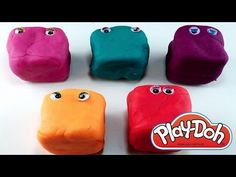 Play Doh Surprise Pepa Pig Smurfs Planes Angry Birds by Eggs and Toys TV
