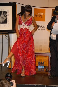 Naomi Campbell in Rajah