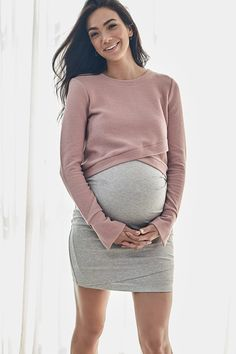 Maternity Skirt Australia - Kiss And Tell – BAE The Label Australia Casual Maternity Outfits, Maternity Wear, Maternity Dresses, Winter Maternity Fashion, Maternity Clothing, Stylish Maternity Clothes, Cute Maternity Style, Maternity Sweaters, Pregnancy Fashion