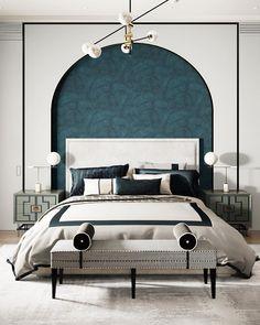 Hotel Bedroom Design, Bedroom Setup, Modern Bedroom Design, Contemporary Bedroom, Home Bedroom, Interior Modern, Home Interior Design, Bedroom Decor, Modern Contemporary