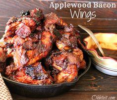 ~Applewood Bacon Wings!