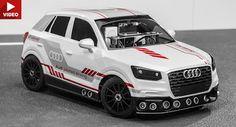 Audi Q2 Scale Model Demonstriert intelligente automatische Parksystem Audi Audi Concepts Audi Q2 Audi Videos Autonomous Concepts Tech Video