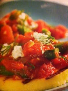 Easy crockpot recipes: Greek Bean Sauce with Feta Crockpot Recipe