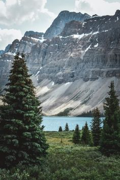 Canadian Rockies, Bow Lake, Icefields Parkway, Glacier Lake, Mountains, Banff, Jasper