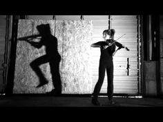Shadows- Lindsey Stirling  ( Have kids watch for when her shadow is in CONTRAST and when they come together and perform in UNISON )