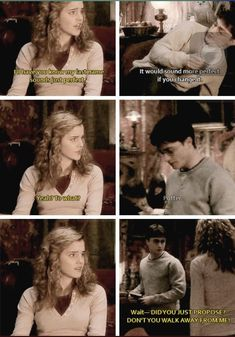 Harry Potter Hermione Granger, Harry Potter Puns, Harry Potter Ships, Harry Potter Actors, Harry Potter World, Harry And Hermione Fanfiction, Harmony Harry Potter, Harry Potter Aesthetic, Drarry