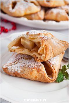 Kruche koperty z jabłkami - I Love Bake French Toast, Breakfast, Ethnic Recipes, Food, Morning Coffee, Meals, Morning Breakfast