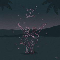 City Of Stars - 그래픽 디자인, 일러스트레이션