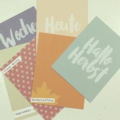 Freebie - Hallo Herbst