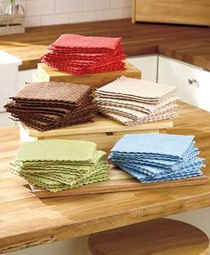 12-Pc. Quilted Dishcloth Packs