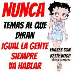 96 Mejores Imágenes De Frases Con Betty Boop Betty