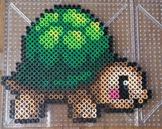Turtle perler beads by Maxlacus
