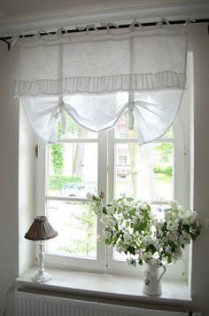 Shabby Rose  white Living: neue Gardinen braucht der Shop...