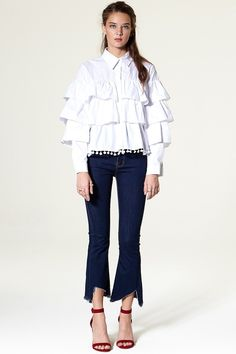 Siera Cut Out Denim Jeans Discover the latest fashion trends online at storets.com #storets store  #