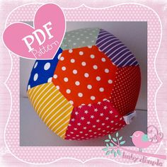 Fabric Balloon Cover PDF Pattern