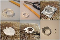 Hollow Ring Construction - Photo credit: Maria Apostolu - realizzazione di un anello cavo