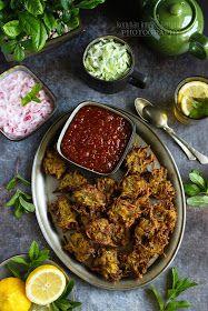 ...konyhán innen - kerten túl...: Cukkinipakora paradicsom chutney-val Chutney, Falafel, Tandoori Chicken, Beef, Ethnic Recipes, Food, Turmeric, Meat, Essen