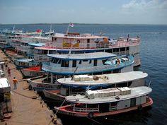 Amazonas River, Manaus, Am - Brazil