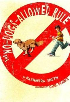 """""""The No-Dogs-Allowed Rule"""" By: Kashmira Sheth; J Fiction - Sheth http://find.minlib.net/iii/encore/record/C__Rb3017136"""