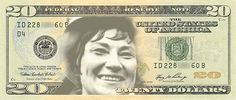 I just submitted Bella Abzug as the next face of the $20 bill at http://womenonbanknotes.ca