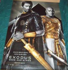 """EXODUS Gods and Kings Original 48"""" X 72"""" Movie Poster Fast Shipping Included"""