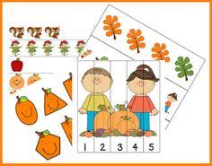 En este paquete de actividades, juegos y fichas con temática el otoño encontraremos formas, puzzles, discriminación visual, conteo y much...