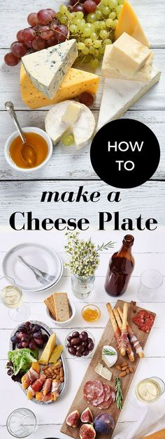 Simple, easy guide on how to make a cheese plate or cheese platter for a party (without spending a lot of money)!