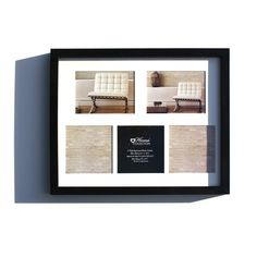 BLACK MULTI APERTURE FRAME - Trade prices,Next Day Delivery,Bulk Discount