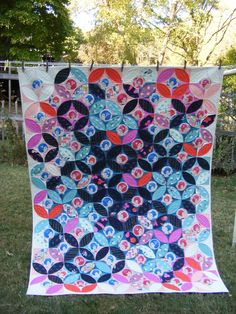 orange peel quilt TIA CURTIS QUILTS: Cotton+Steel quilts and a gift for you