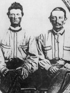 A pair of 4th Virginia soldiers wearing  overshirts